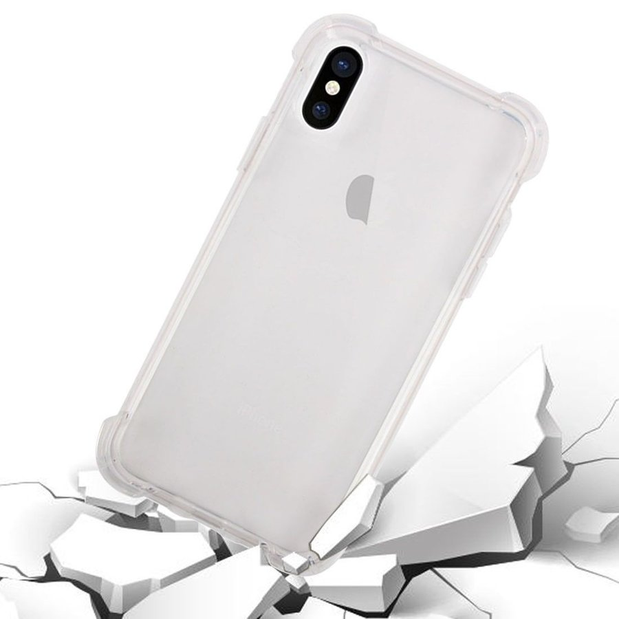 iPhone XS MAX Cover Transparant Shockproof Case-3