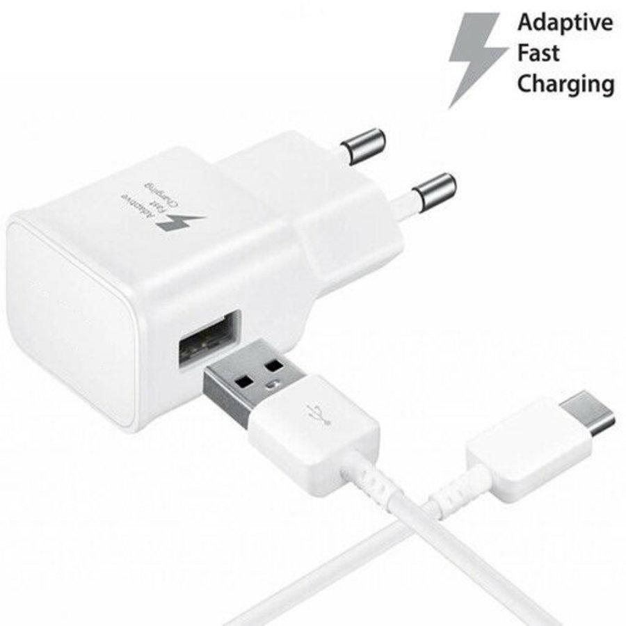 Type C USB Kabel 1M voor Samsung, Huawei, Nokia (OEM)-1