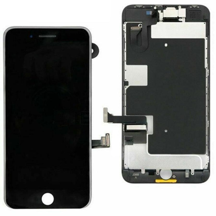 Apple iPhone 8 Plus voorgemonteerd beeldscherm en LCD-1