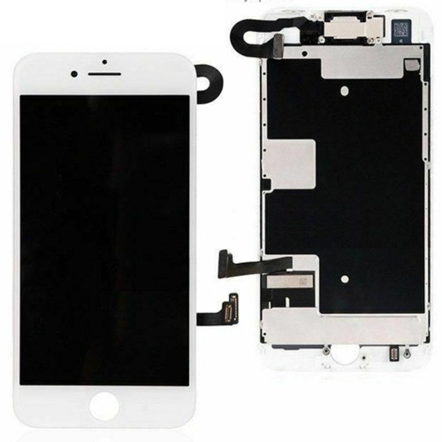 Apple iPhone 8 voorgemonteerd beeldscherm en LCD-2