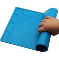 Repair mat blue