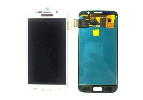 Samsung Galaxy S6 LCD Display - Wit