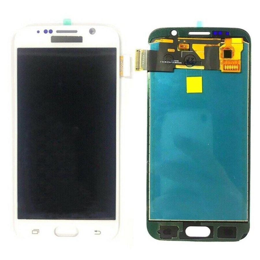Samsung Galaxy S6 LCD Display - Wit-1