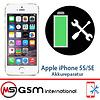 Akkureparatur für Apple iPhone 5S / SE   Austausch Akku inkl. Einbau