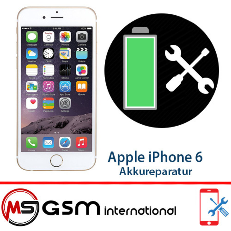 Batterij reparatie voor Apple iPhone 6 | Batterij vervangen inclusief installatie-1