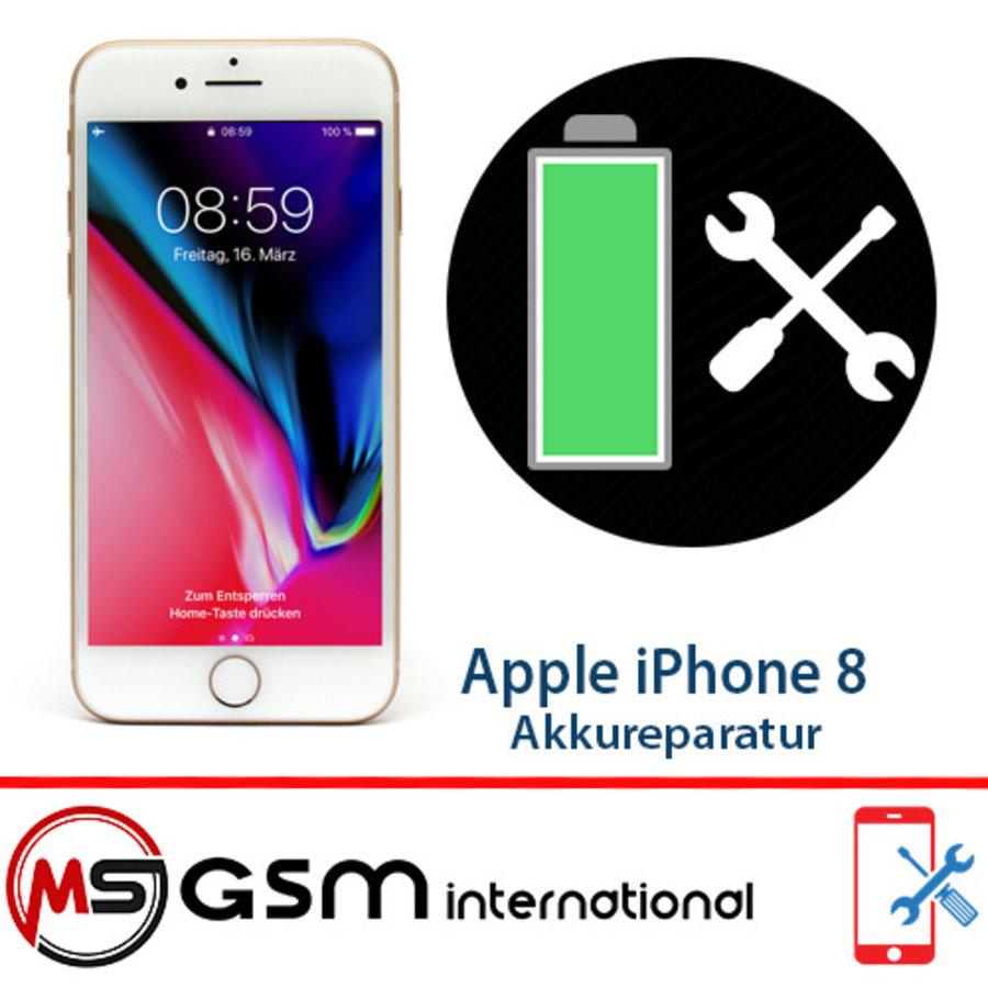 Akkureparatur für Apple iPhone 8   Austausch Akku inkl. Einbau-1