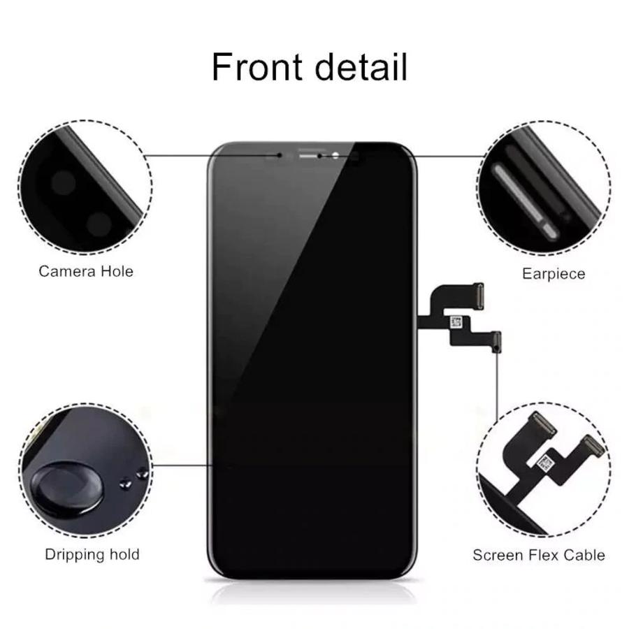 iPhone XS MAX beeldscherm en OLED-3