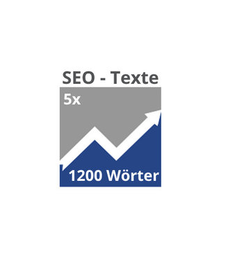 5x SEO-Texte (1200 Wörter)