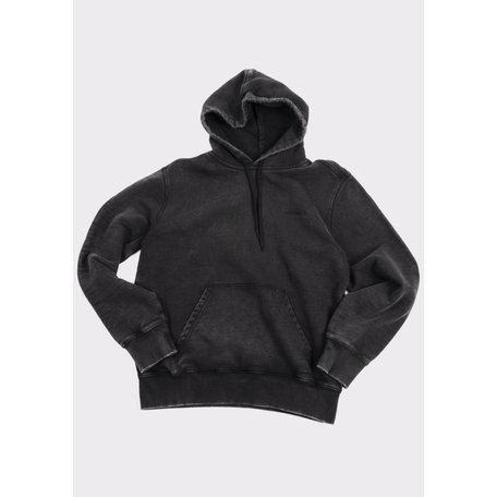 HOODED MOSBY SCRIPT SWEAT
