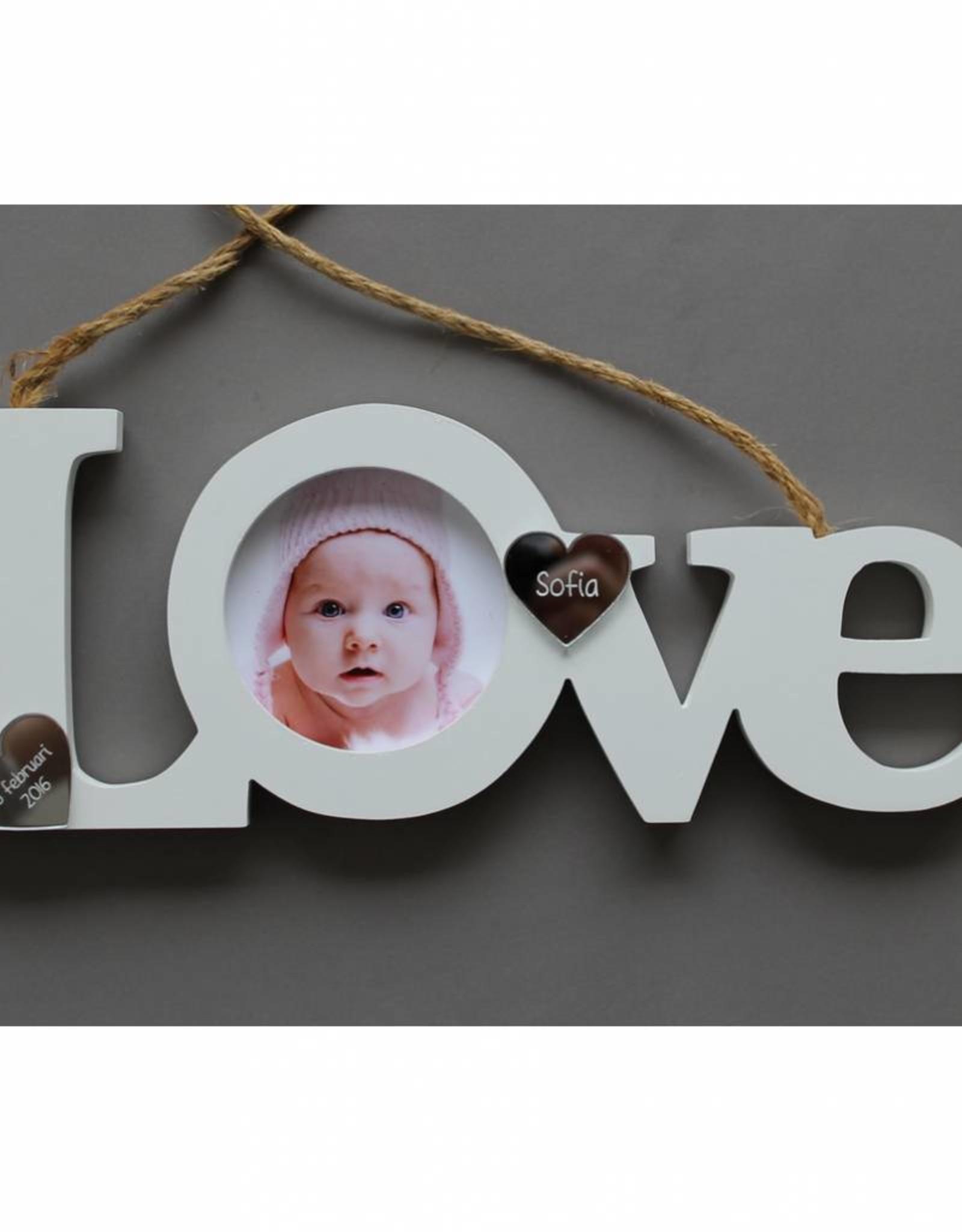Fotolijst Love geboorte