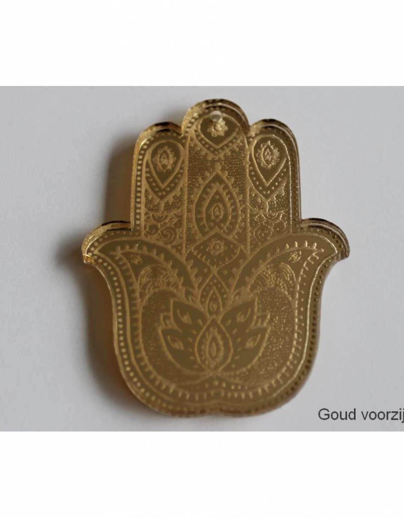 Trendy hanger Boeddha-hand