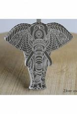 Trendy hanger Olifant