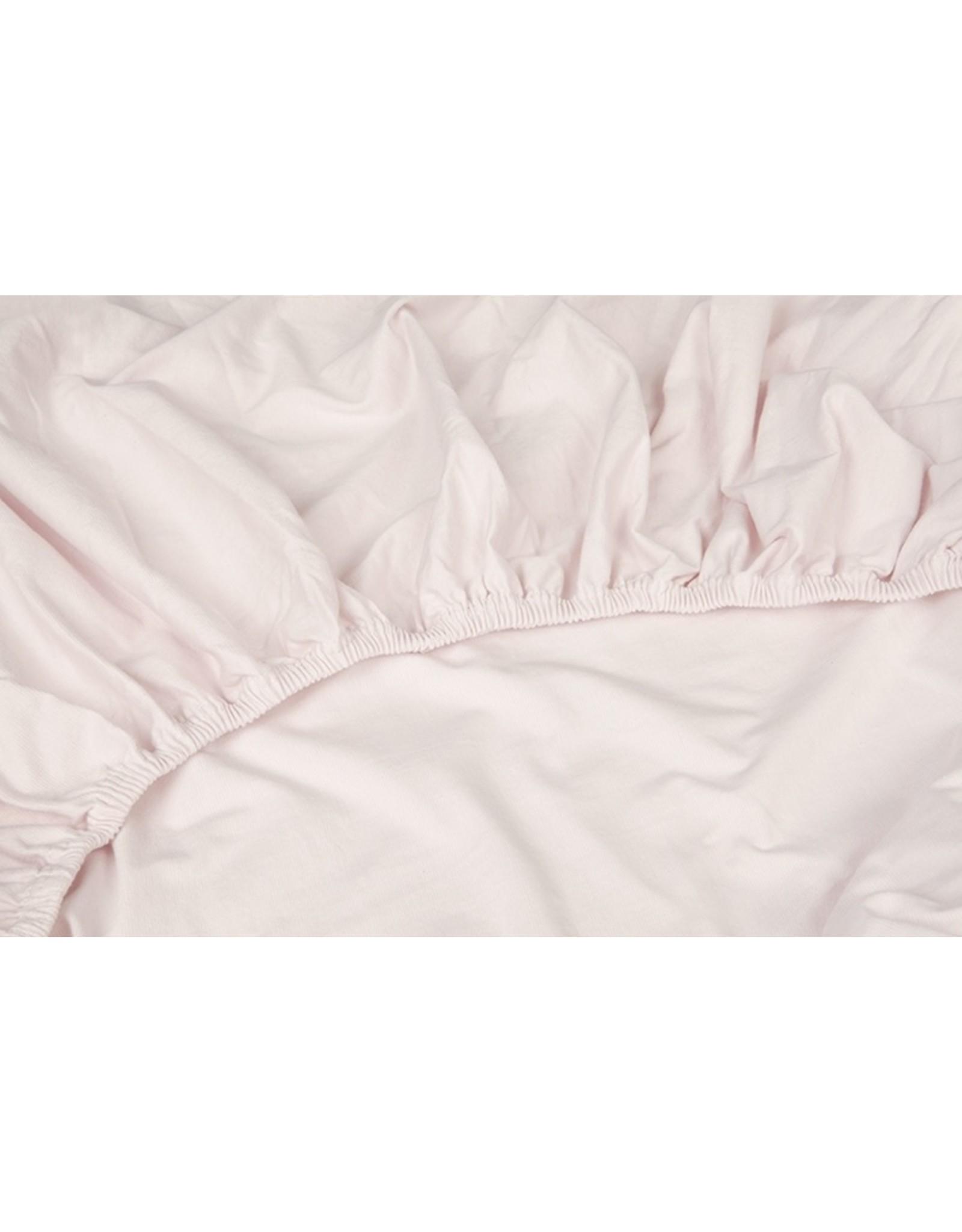 Kayori Kayori Shizu hoeslakens stretch jersey  Roze
