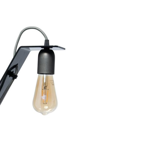 Plus 31 Dutch Lamp Design Wandlamp staal Vlist