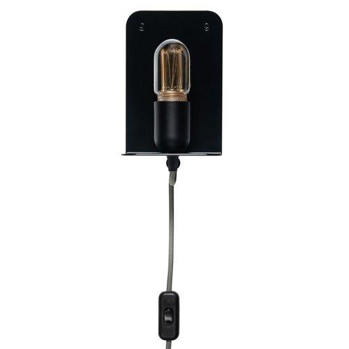 Plus 31 Dutch Lamp Design Wandlamp staal Hunze