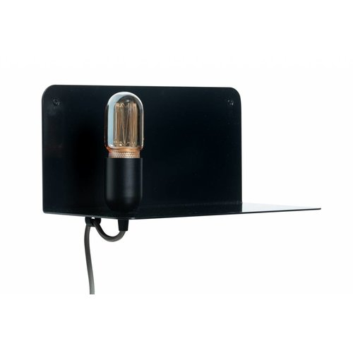 Plus 31 Dutch Lamp Design Wandlamp staal Dinkel ( linker uitvoering)