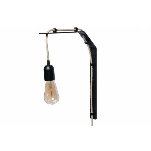 Plus 31 Dutch Lamp Design Wandlamp staal Gaasp