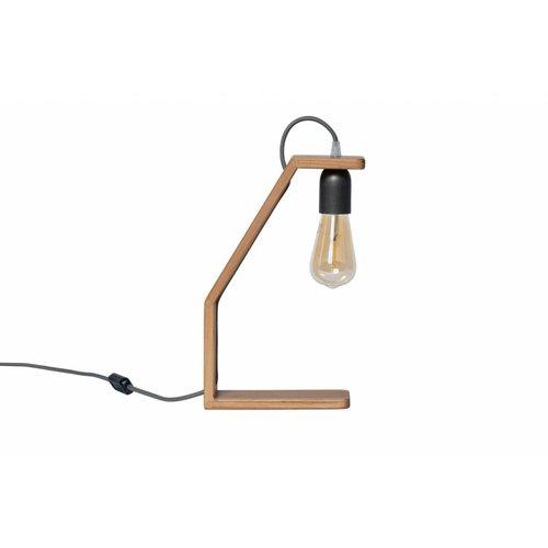 Plus 31 Dutch Lamp Design Tafellamp massief iepen