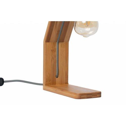 Plus 31 Dutch Lamp Design Tafellamp massief bamboe