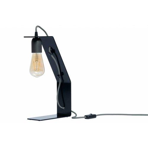 Plus 31 Dutch Lamp Design Tafellamp staal Boorne