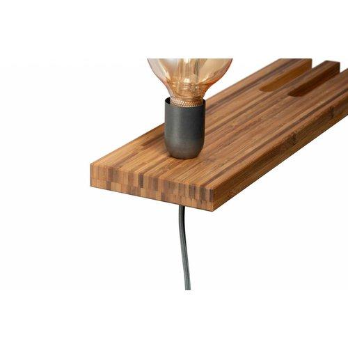 Plus 31 Dutch Lamp Design Wandlamp massief bamboe