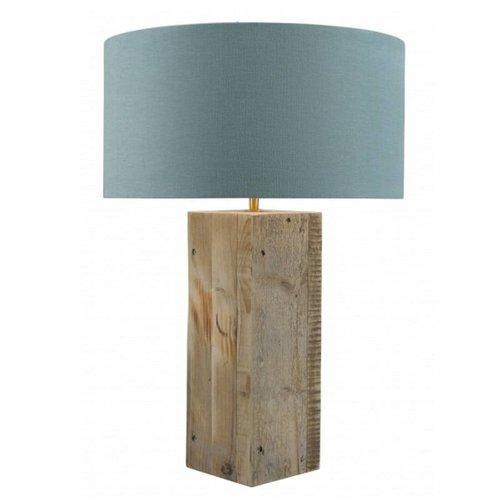 Toplicht Tafellamp steigerhout Urban 40 Naturel (excl. kap)