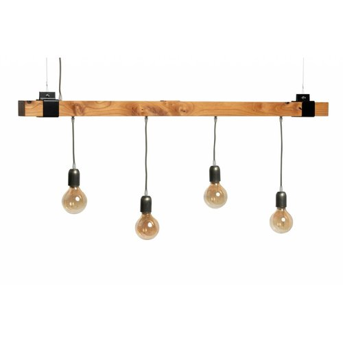 Plus 31 Dutch Lamp Design Hanglamp massief iepen 130 cm