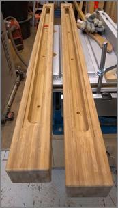 Orvelte bamboe
