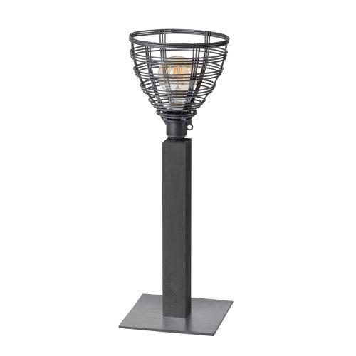 Tafellamp Molfetta Lusso draadlamp grey