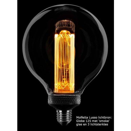 Tafellamp Molfetta Lusso draadlamp black/grey