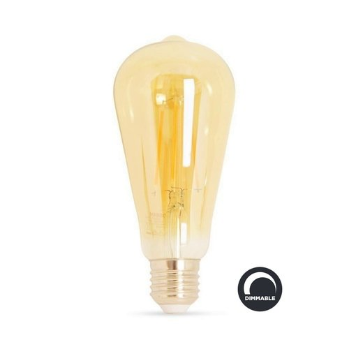 Osram LED Edison 7.5W Goud