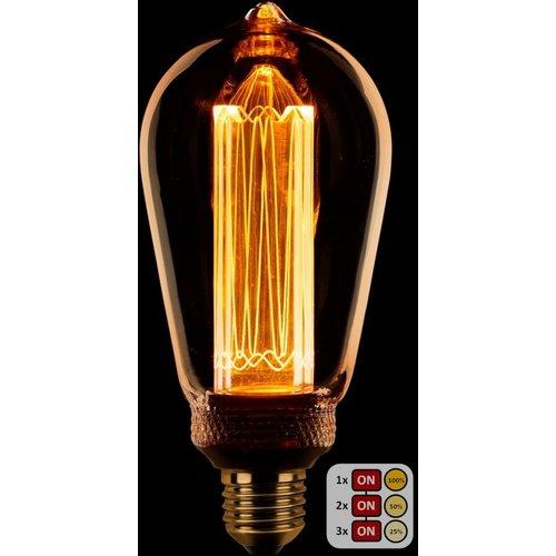 ETH Lichtbron LED Kooldraad Edison ST64 SceneSwitch Amber