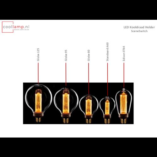 ETH Lichtbron LED Kooldraad Globe 95 SceneSwitch Helder