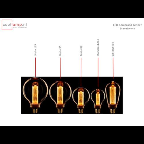 ETH Lichtbron LED Kooldraad Globe 125 SceneSwitch Amber