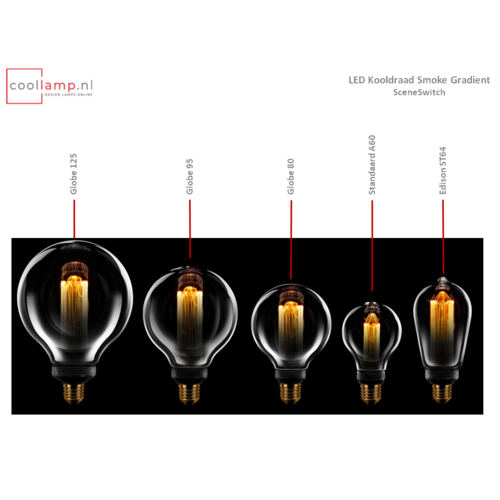 ETH Lichtbron LED Kooldraad Standaard 60 SceneSwitch Smoke Gradient