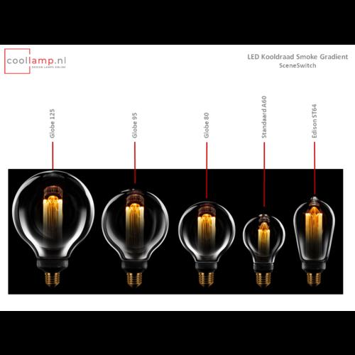 ETH Lichtbron LED Kooldraad Globe 125 SceneSwitch Smoke Gradient