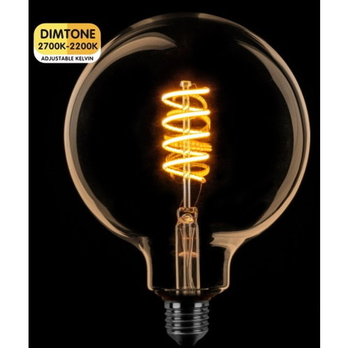 ETH LED Globe 125 DimTone Amber