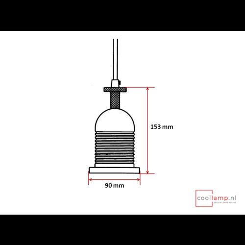 Pendel Bell metaal zwart