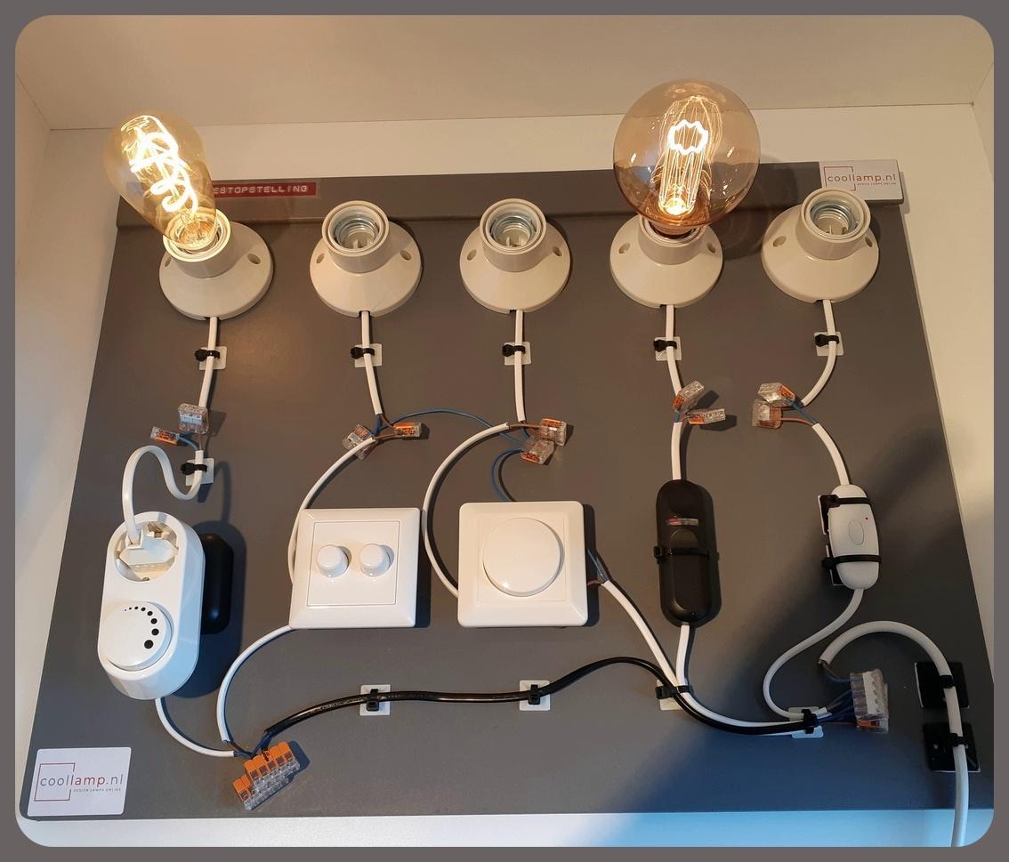coollamp dimmer testopstelling