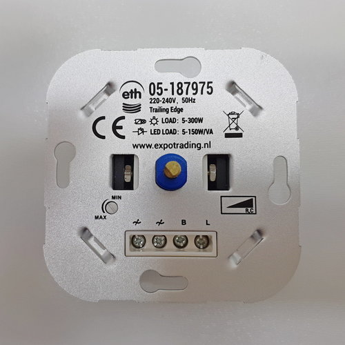 ETH LED inbouwdimmer enkelvoudig 975