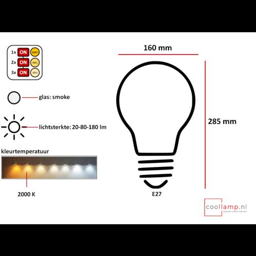 ETH Lichtbron LED Kooldraad Mella XXL SceneSwitch smoke