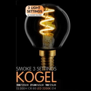 ETH LED Kogel SceneSwitch Smoke E14