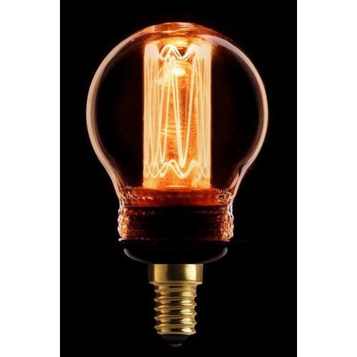 ETH Lichtbron LED Kooldraad Kogel 2.3W Amber E14