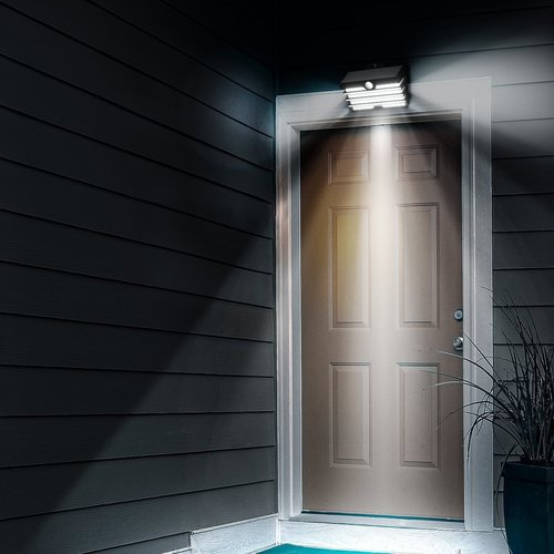 Baseus Solar LED buitenlamp met detectie  SMD01