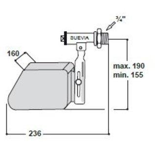 Suevia Suevia Float masterflow for low water pressure