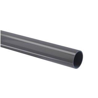 PVC-Druckrohr 16 bar glatt grau Kiwa L = 4