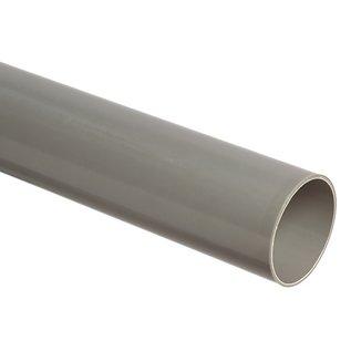 PVC-Regenwasser-Abflussrohr grau L=4m
