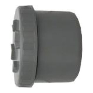 End piece with screw cap Gusset