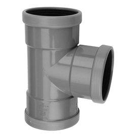 PVC RM-T-stuk 90°  SN4 M/M/M