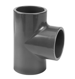 PVC Press T-piece 90° 3 x M PN16